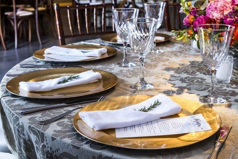 escolher o menu do casamento